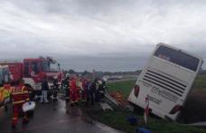 Autocar cu români, implicat într-un accident în Ungaria