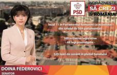 """Doina Federovici:""""Prioritatea PSD pentru Botoșani este finalizarea modernizării infrastructurii rutiere începută în guvernarea lui Victor Ponta"""""""