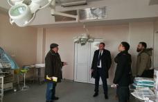 Soluții de urgență cerute de CJ pentru sala inundată de la Spitalul Mavromati - FOTO