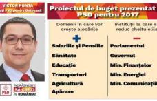 PSD a prezentat proiectul de Buget pentru 2017