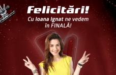 """""""Vocea României 2016"""" Botoșăneanca Ioana Ignat, merge în finală!"""