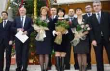 Parlamentarii de Botoșani şi-au primit certificatele de validare a mandatelor din partea BEJ - FOTO