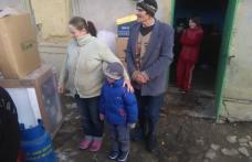 Doamnele social democrate au împărtășit bucuria de Crăciun cu șapte copii din orașul Flămânzi - FOTO