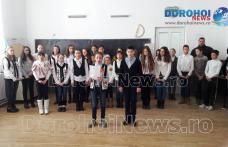 """Școala Gimnazială """"Alecu Ivan Ghilia"""" Șendriceni: Unirea, națiunea a făcut-o - FOTO"""