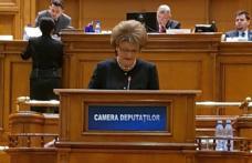 """Mihaela Huncă """"Guvernul PSD a majorat cu 700 lei finanțarea cheltuielilor anuale pentru pregătirea fiecărui elev din România"""""""