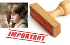 În atenția tuturor persoanelor care doresc să plece în străinătate și au în întreținere copii minori