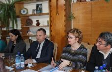 Delegație ucraineană, în vizită la Consiliul Județean Botoșani - FOTO