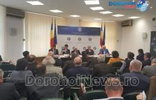 Dumitru Chelariu a reprezentat județul la o întâlnire de lucru cu vicepremierul Sevil Shhaideh și ministrul agriculturii - FOTO