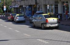 Taximetriștii de pe bulevardul Victoriei sunt nemulțumiți - VIDEO