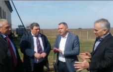 Directorul general al Agenției Naționale de Îmbunătățiri Funciare, a fost astăzi la Botoșani