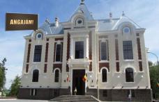 Primăria municipiului Dorohoi scoate la concurs un post de consilier. Vezi detalii!