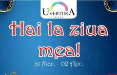 La Mulți Ani Uvertura Mall! Vino weekendul acesta la cea mai mare petrecere aniversară din Botoșani