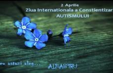"""Ziua Internaţională a Conştientizării Autismului marcată și la Dorohoi cu """"FLORI ALBASTRE - TRANDAFIRUL ALBASTRU"""""""