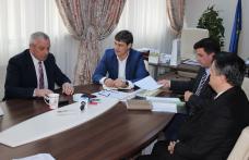 Delegație a municipalității Bălți (Republica Moldova), în vizită la Consiliul Județean Botoșani - FOTO