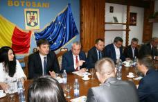 Delegație oficială din Republica Moldova, în vizită la Consiliul Județean Botoșani - FOTO