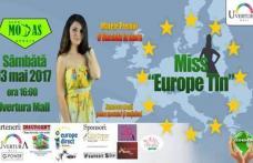 "Concursul de frumusete Miss ""EuropeTIN"" 2017 la Uvertura Mall Botosani!"