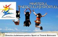 Finanțări nerambursabile puse la dispoziția Organizațiilor neguvernamentale de Direcția Județeană de Tineret și Sport!