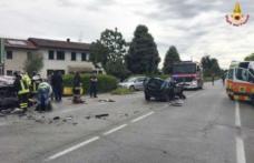 Accident grav în Italia: patru români au fost răniți! Unul dintre autovehicule a luat foc