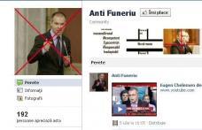 Funeriu, demis pe Facebook
