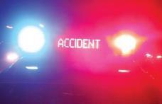 Accident soldat cu pagube materiale din cauza băuturilor alcoolice