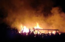 10 tone de furaje, mistuite de foc
