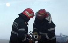 Autoturism distrus într-un incendiu la Vorona