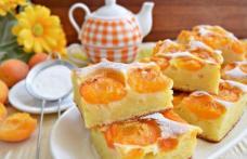 Prăjitură delicioasă cu caise