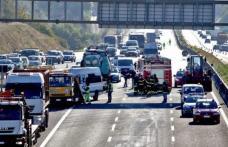 Accident grav pe o autostradă din Italia. Nouă persoane au fost rănite!
