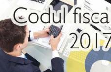 Ce modificări importante ale Codului Fiscal intră în vigoare de luni