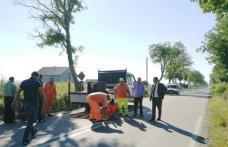 Limitatoare de viteză montate în intersecția morții de la Orășeni Deal – FOTO