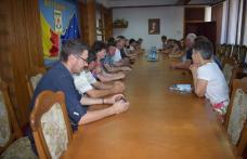 Delegație din Franța primită de prefect - FOTO