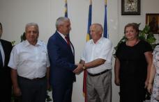 Delegație a Consiliului Raional Noua Suliță din Ucraina, în vizită la CJ Botoșani - FOTO