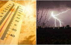 Codul roșu de caniculă va fi urmat de alte fenomene meteo extreme
