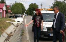 Noi măsuri luate de autorități pentru evitarea producerii de accidente în intersecţia morţii de la Orăşeni Deal - FOTO