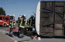 Autocar cu 49 de muncitori, răsturnat în Germania. 40 dintre ei sunt români!