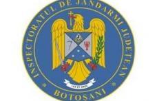 Noul însemn heraldic al Jandarmeriei Botoşani