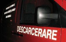Victimă a unui accident rutier, descarcerată de pompieri