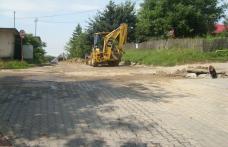 O conductă de apă din Dorohoi a fost avariată