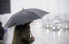 COD PORTOCALIU de lapoviţă şi ninsori în weekend. Jumătate de ţară, afectată