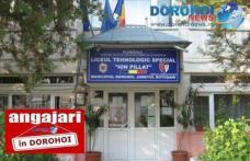 Școala Profesională Specială Ion Pillat Dorohoi face angajări. Află care sunt condițiile