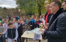 EVADARE ÎN SĂNĂTATE! - Concurs de ciclism pentru școlari în satul Iacobeni, comuna Dîngeni - FOTO