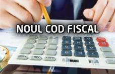 NOUL COD FISCAL 2018, adoptat. Românii, loviți din plin de revoluția fiscală