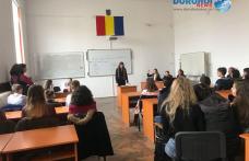 "Colegiul Național ""Grigore Ghica"" Dorohoi: Primarul municipiului prezent la o dezbatere academică - FOTO"
