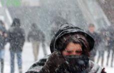 Ciclonul Olaf ajunge în România duminică. Unde vor veni ninsorile