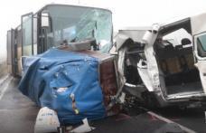 Microbuz cu români implicat într-un grav accident în Ungaria: 3 morți și 5 răniți - VIDEO