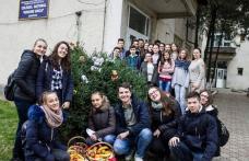"""Colegiul Național Grigore Ghica Dorohoi: În """"Săptămâna legumelor şi fructelor donate"""" se învaţă solidaritatea umană - FOTO"""