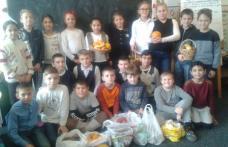 """Spirit civic în săptămâna fructelor și legumelor donate la Școala Gimnazială """"A. I. Cuza"""" Dorohoi - FOTO"""