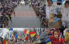 Muzică, horă și mâncare ostășească de 1 Decembrie la Dorohoi - VIDEO/FOTO