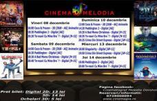 """Vezi ce filme vor rula la Cinema """"MELODIA"""" Dorohoi, în săptămâna 8 – 14 decembrie – FOTO"""