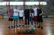 Campionat de baschet la Colegiul Național Grigore Ghica Dorohoi - FOTO